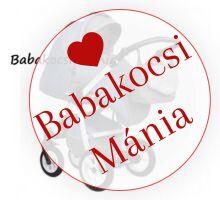 Berry Baby Macaron 3in1 multifunkciós babakocsi M-22 grafit kék 3