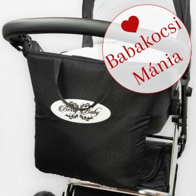 Berry Baby Comfort Shopping Bag bevásárló táska babakocsira: fekete