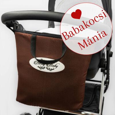 Berry Baby Comfort Shopping Bag bevásárló táska babakocsira: csokibarna