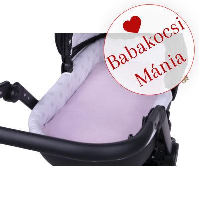 Berry Baby Kókusz matrac babakocsi mózes részébe: rózsaszín polár