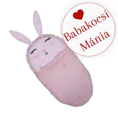 Berry Baby Bunny bundazsák babahordozóba és babakocsi mózes részébe: rózsaszín nyuszi