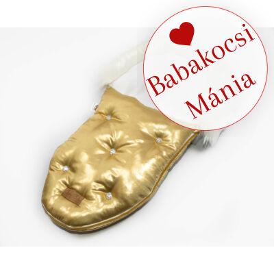 Berry Baby Luxus bundazsák babahordozóba és mózesbe: GOLD WITH CRYSTALS