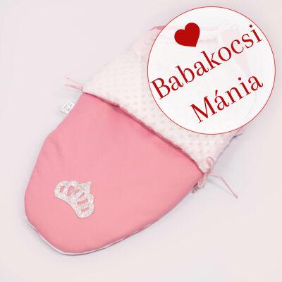Berry Baby Crown bundazsák: 04/A- Pink Bubble -babahordozó autós ülésbe és mózesbe