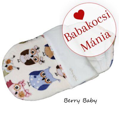Berry Baby Klasszikus bundazsák babahordozóba: nagy baglyos