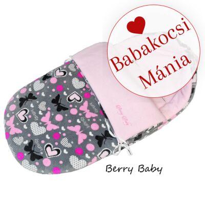 Berry Baby Klasszikus bundazsák babahordozóba: grafit pillangós