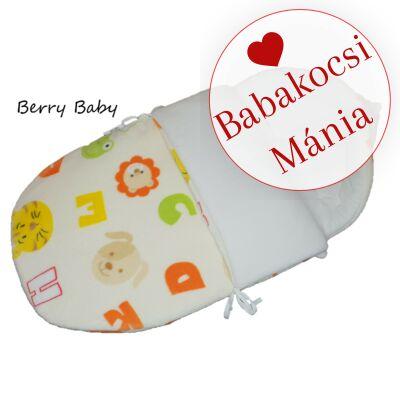 Berry Baby Klasszikus bundazsák babahordozóba: színes betűs