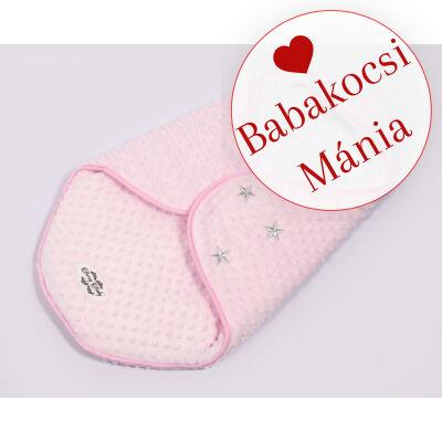Berry Baby Lovely bundazsák hordozóba: rózsaszín minky