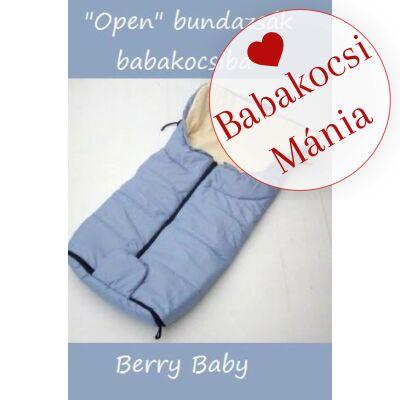 Berry Baby Open bundazsák babakocsiba: kék