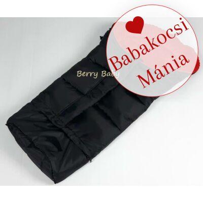 Berry Baby Practic bundazsák babakocsiba és babahordozóba: piros minky belsővel
