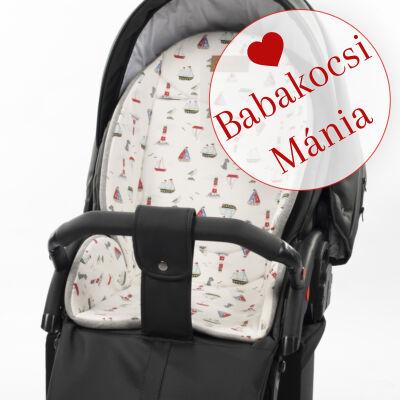 Berry Baby ZIZI babakocsi alátét: tengerész pamut