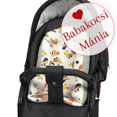 Berry Baby ZIZI babakocsi szűkítő betét: Dino pamut