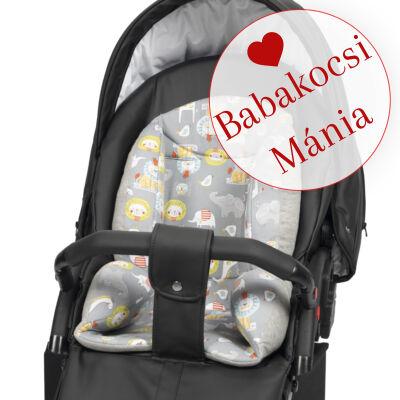 Berry Baby ZIZI babakocsi szűkítő betét: szürke szafari pamut