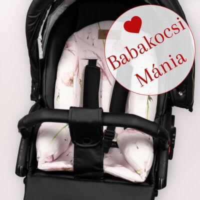 Berry Baby ZIZI babakocsi szűkítő betét: Dandelion rózsaszín pitypangos