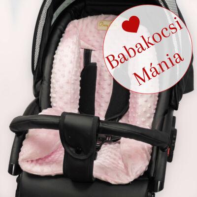 Berry Baby ZIZI babakocsi szűkítő betét: rózsaszín minky
