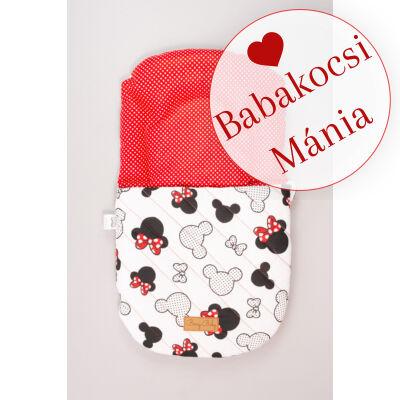 Berry Baby Babazsák mózesbe és babaágyba: Minnie fantasy piros pöttyös