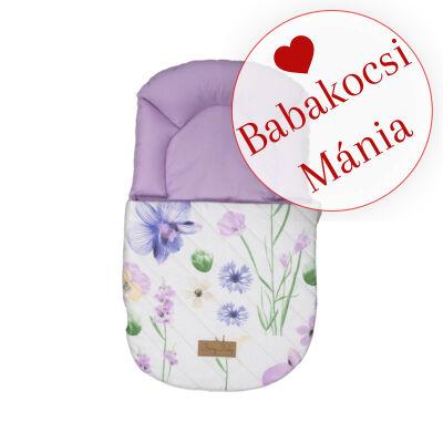 Berry Baby Babazsák mózesbe és babaágyba: IRIS lila virágos