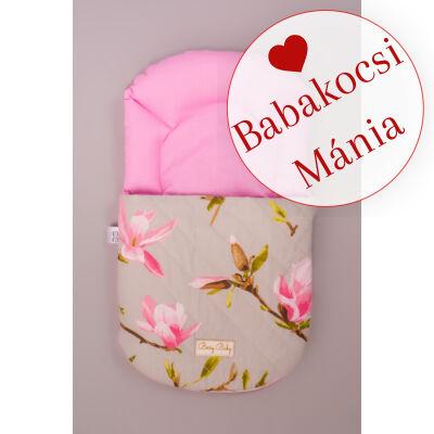 Berry Baby Babazsák mózesbe és babaágyba: Magnolia rózsaszín virágos