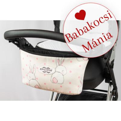 Berry Baby Comfort babakocsi tároló: Sweet Bunny rózsaszín nyuszis
