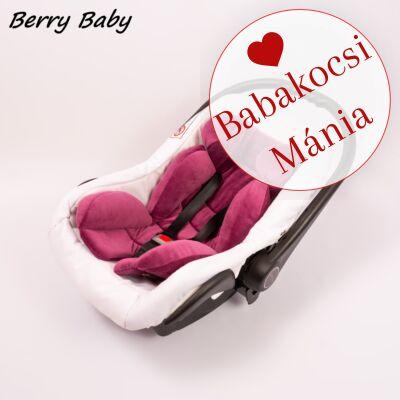 Berry Baby újszülött szűkítőbetét, alátét babahordozóba: lila plüss