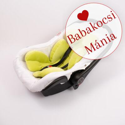 Berry Baby újszülött szűkítőbetét, alátét babahordozóba: kiwi zöld plüss