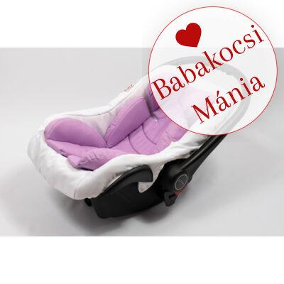 Berry Baby Pamut újszülött szűkítőbetét hordozóba: világos lila