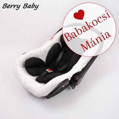 Berry Baby Pamut újszülött szűkítőbetét hordozóba: fekete