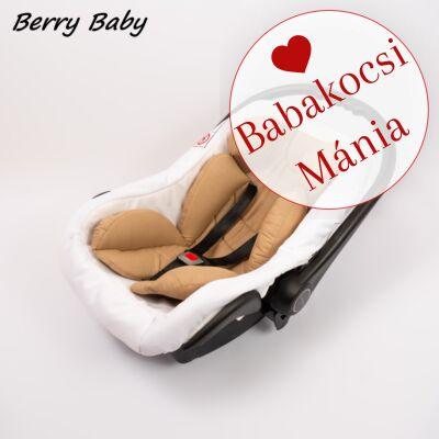 Berry Baby Pamut újszülött szűkítőbetét hordozóba 0-4 hó- MOGYORÓ (univerzális)