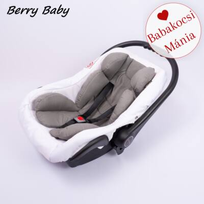 Berry Baby Pamut újszülött szűkítőbetét hordozóba: szürke