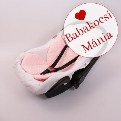 Berry Baby MINKY szűkítőbetét/alátét babahordozóba 4-12 hós: RÓZSASZÍN (univerzális)