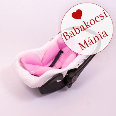 Berry Baby Pamut újszülött szűkítőbetét hordozóba: málna rózsaszín