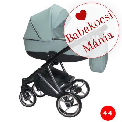 Berry Baby- Sojan AGIX multifunkciós babakocsi szett (autós hordozóval és adapterrel): Szürkéskék