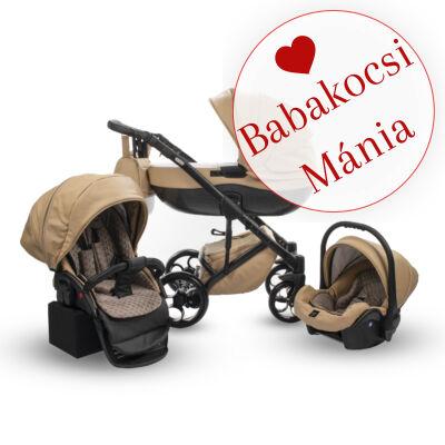Berry Baby Sojan Aventador 3in1 multifunkciós babakocsi szett: Beige eco bőr