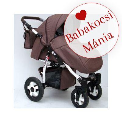 Berry Baby Active sport babakocsi: Barna len (új keréksorral készül, mely a második fotón látható)