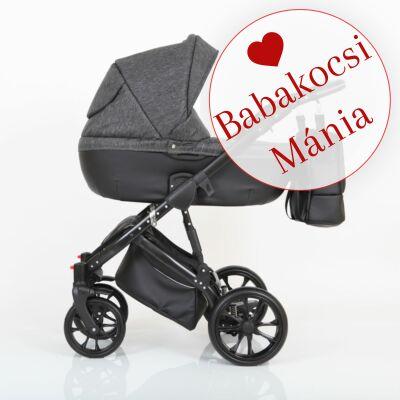 Berry Baby CORRADO multifunkciós babakocsi szett (autós hordozóval és adapterrel!): CR4 Black