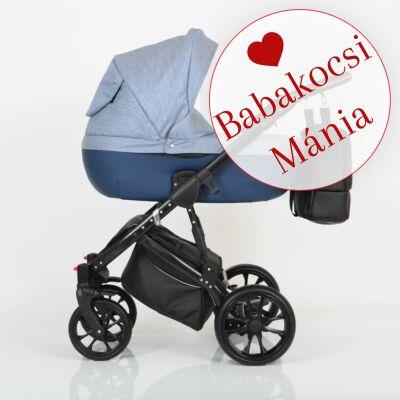 Berry Baby CORRADO multifunkciós babakocsi szett (autós hordozóval és adapterrel!): CR8 Black