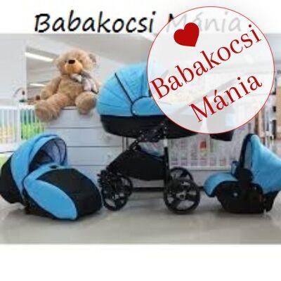 Berry Baby- LUX 3in1 babakocsi szett (autós hordozóval és adapterrel!): Z-15 -babakocsi mánia-