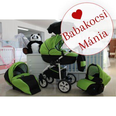 Berry Baby Lux Z-16 babakocsi zöld fekete