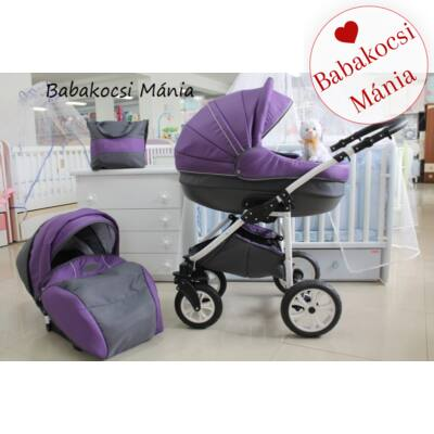 Berry Baby- LUX 3in1 babakocsi szett (autós hordozóval és adapterrel!): Z-19 -babakocsi mánia-