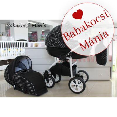 Berry Baby- LUX 3in1 babakocsi szett (autós hordozóval és adapterrel!): Z-22 -babakocsi szett- GÉL KERÉKSORRAL