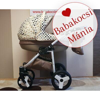 Berry Baby- LUX 3in1 babakocsi szett (autós hordozóval és adapterrel!): Z-26 -babakocsi mánia- GÉL KERÉKSORRAL