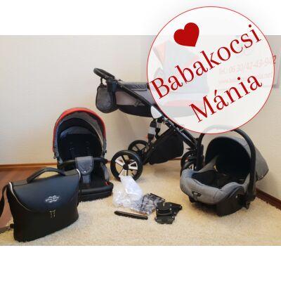 A bal sarokban látható Berry Baby Max pelenkázó táska pluszba vásárolható meg.