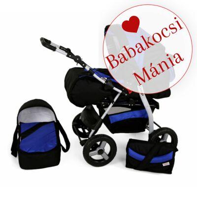Kunert DEEP (Vip) 3in1 babakocsi (autós hordozóval): Fekete-kék