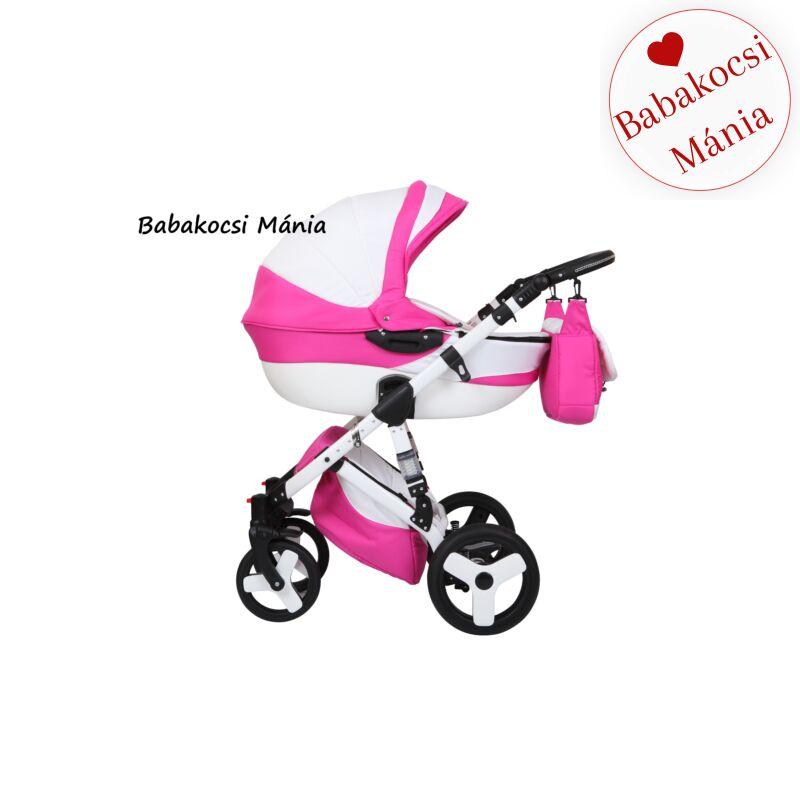 Berry Baby Torrino multifunkciós 3in1 babakocsi T-4 pink fehér